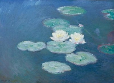 Monet painting of Giverny garden