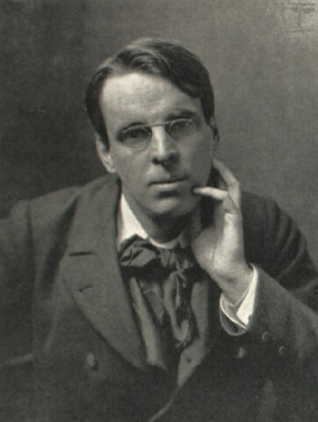 William Butler Yeats portrait